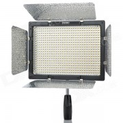YONGNUO YN600L 36W 600 LED 5500K 4680lm luz Video w / filtros - negro