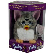Furby Church Mouse with Blue Eyes by Hasbro