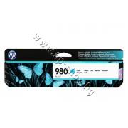Мастило HP 980, Cyan, p/n D8J07A - Оригинален HP консуматив - касета с мастило