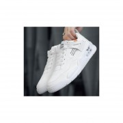Zapatillas casuales de hombre blanco