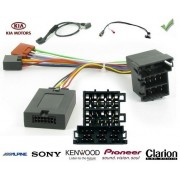 COMMANDE VOLANT KIA SPORTAGE 2010- SANS NAV AVEC AMPLI - Pour Pioneer complet avec interface specifique