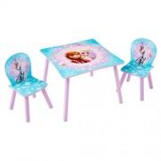 Disney Frozen houten tafel met stoeltjes
