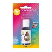 Wilton Colorant alimentaire Color Right - Marron - 19 ml