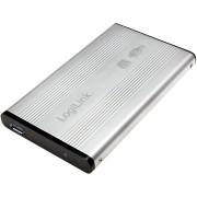 "Rack extern LogiLink UA0106A pentru HDD/ SSD 2.5"", USB 3.0 - Silver"