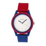 Crayo Pleasant Quartz Watch - Red/Blue CRACR3901