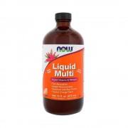 Liquid Multi - Vitamine si minerale lichide, Now Foods, 473ml