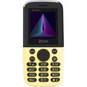 ZOVO ZO1898 DUAL SIM AUTO CALL RECORDER 2000 MAH BATTERY FM BLUETOOTH MULTI LANGUAGE MOBILE PHONE IN YELLOW COLOR