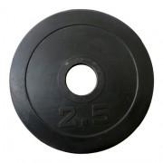 Диск за щанга 2.5 кг. Ø50 мм. (гумиран)