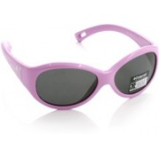 Polaroid Oval Sunglasses(For Girls)