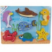 Baby Mix Puzzle din lemn 10m+ Ocean