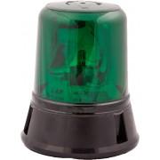 Girofar verde rotativ 12V cu prindere in 3 puncte