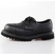 chaussures GRINDERS - 3dírkové - Régent - Noire