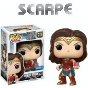 Funko Pop Wonder Woman With Motherbox Justice League