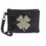 Sophia Visconti Dolly/Ancda Black Cosmetic Bag(Black)