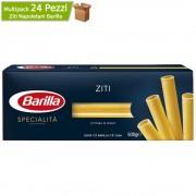 BARILLA Ziti napoletani le specialita' cottura 10 minuti mulktipack 24 confezioni da 500 grammi