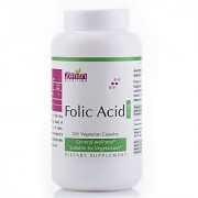 Zenith Nutrition Folic Acid 2mg - 200 Capsules