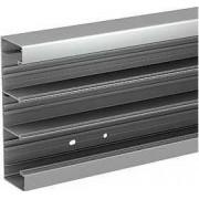 Optiline 45 - canal de cabluri instalare - 185x55 mm - alum. - natural - 2000 mm - Sisteme de canale optiline 45 - 185x55 mm - Optiline 45 - ISM10550 - Schneider Electric