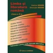 Limba si literatura romana cls 10 - Hadrian Soare Gheorghe Soare