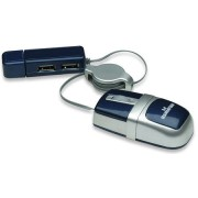 Manhattan MM5 Optical Mobile Nano Mouse - USB