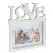 Fotolijst Love wit 10x15 cm