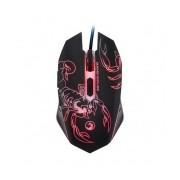 Mouse Gamer Marvo Óptico Escorpión, Alámbrico, USB, 2400DPI, Negro