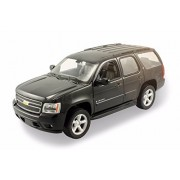 New 1:24 W/B Welly Collection Black 2008 Chevrolet Tahoe (Street Version) Diecast Model Car By Welly