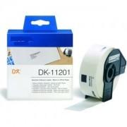 Printflow Compatível: Etiquetas Brother branco 29MM X 90MM 400un (DK-11201)