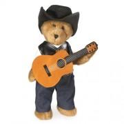 "Boyds Bears Country Music - Cash - Country Bear Boy Plush - 14"""