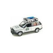 Range Rover Safari 1:24 Bburago Prata