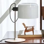 Coupé - timeless designer table lamp white