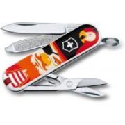 Victorinox Classic �Treasure�, 58 Mm, On Small Blister Multi-utility Knife(Multicolor)