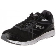 Fila Men's Memory Panorama Black, Castle Rocket and White Running Shoes - 8 UK/India (42 EU)