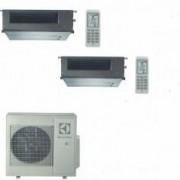 Electrolux CLIMATIZZATORE CONDIZIONATORE ELECTROLUX CANALIZZABILE DUAL 12+12 INVERTER EXU18JEWI DA 12000+12000 BTU