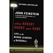 Where Nobody Knows Your Name: Life in the Minor Leagues of Baseball, Paperback/John Feinstein