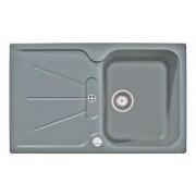 Teka Cara 45 B TG beépíthető mosogatótál, metál szürke (88555)