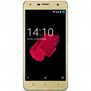 "Smartphone, Prestigio Muze D5 LTE, Dual SIM, 5"", Arm Quad (1.3G), 1GB RAM, 8GB Storage, Android, Gold (PSP5513DUOGOLD)"