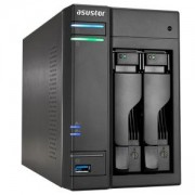 Мрежов сторидж Asus, 2-bay NAS, Intel Celeron Quad-Core N3150 ( up to 2.08GHz), 4 GB DDR3L SO-DIMM (max 8GB) 2 x 3.5, AS6202T