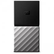 Външен диск Portable SSD WD My Passport 256GB USB 3.1 Slim, Сребрист, WDBK3E2560PSL