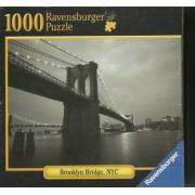 Manhattan & Brooklyn Bridge - 1000pc Jigsaw Puzzle By Ravensburger