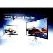 Samsung s27D590C 27 inch Curved LED display with 2x 5w speaker PLS