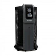 Klarstein Datscha Analog 360° hősugárzó, termosztát, radiális hősugárzó, 2000W, fekete (ACO9-Datscha-A)
