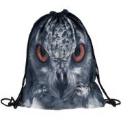 Plecaczek z nadrukiem - SOWA