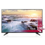 "LG 43UF772V, 43"" 4K Ultra HD TV, 3840x2160, DVB-C/T2/S2, 1400PMI, HDMI, Smart, Metal Black/2POLE Silver"