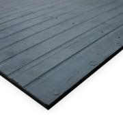 Černá fitness rohož - délka 180 cm, šířka 120 cm a výška 1,2 cm (00250009) FLOMAT
