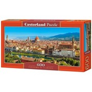 Puzzle panoramic Panorama cu Florenta, 600 piese