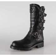 bottes en cuir pour femmes - NEW ROCK - M.7604-S1