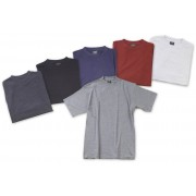 Big Size T - Shirt, rot, Gr.S