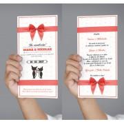 Invitatii de nunta - Wedding Cats (set)