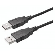 Cablu USB 2.0 Bachmann 1x mufă tată USB 2.0 A - 1x mufă tată USB 2.0 A 3 m negru