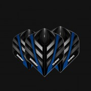 FLUTURASI WINMAU Rhino Extra Thick Black, Grey & Blue